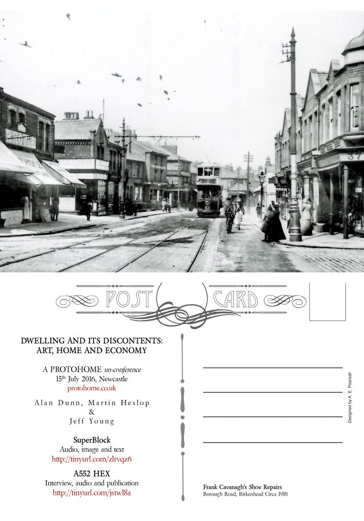 Postcard Newcastle Version